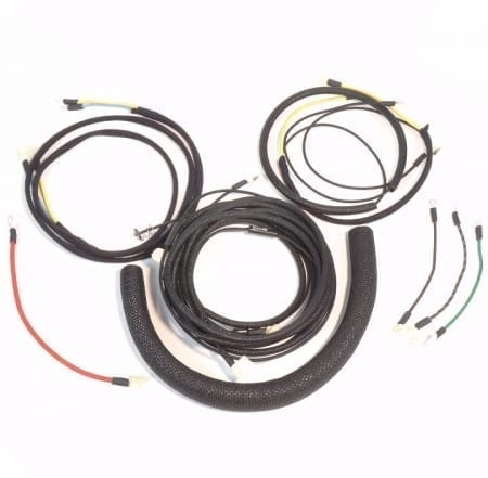 Massey Harris 44 Early with Regulator Under Fuel Tank Wire Harness Complete Wire Harness