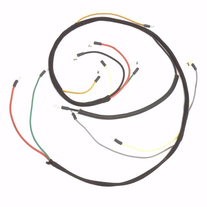 oliver 55 gas  u0026 oliver super 55 gas up to serial  46000  kick start  complete wire harness