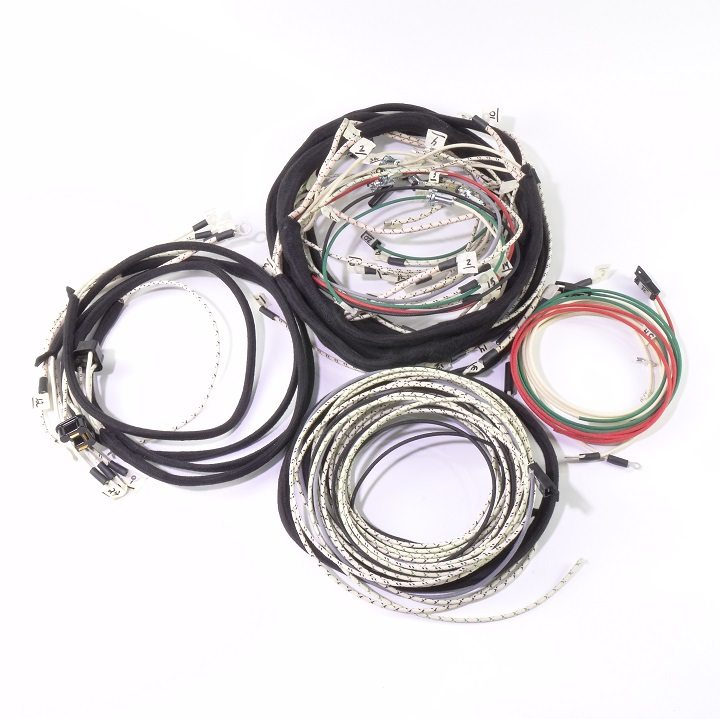 chevrolet truck 1950-1952 complete wire harness - the ... 66 chevy truck wiring harness