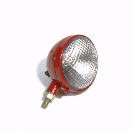 "6 Volt Red 4 3/4"" Bullet Type Rear Lamp"
