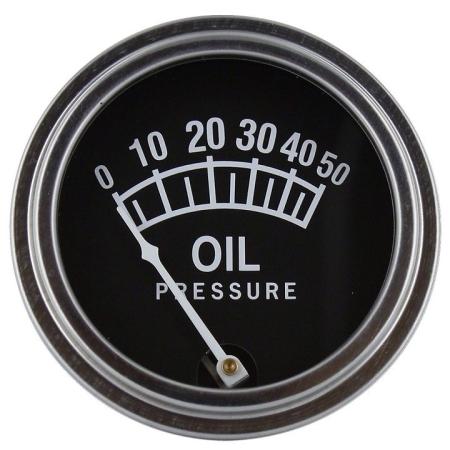 Universal Oil Pressure Gauge (0-50 PSI)