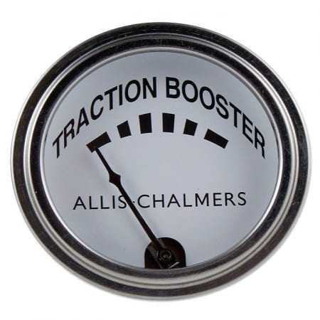 Allis Chalmers Traction Booster Gauge