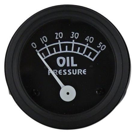Ford Oil Pressure Gauge (0-50 PSI)