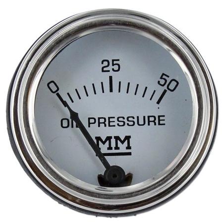 Minneapolis Moline Oil Pressure Gauge (0-50 PSI)