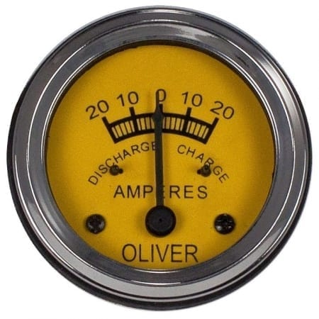 Oliver 20-0-20 Ammeter Gauge