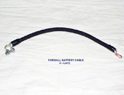FARMALL H EARLY WITH FOOT START-POSITIVE BATTERY CABLE