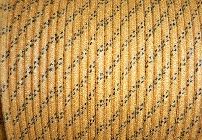 12 Gauge Cotton Braided Primary Wire (Sold By the Foot)