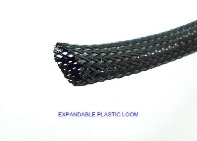 #B9008-001, 1/8 Inch Expandable Plastic Conduit (Modern Type Wire Loom) (Sold by the Foot)