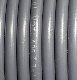 12 Gauge PVC Primary Wire (Sold By the Foot)