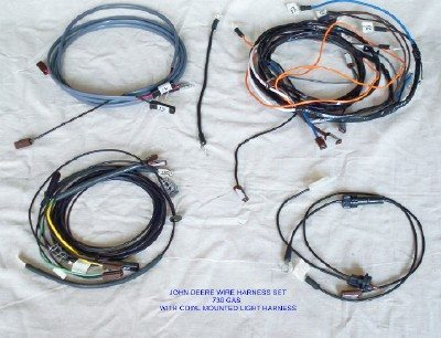 john deere 730 diesel pony start wire harness the. Black Bedroom Furniture Sets. Home Design Ideas
