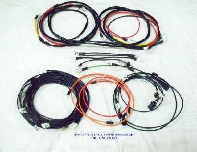 Minnaepolis Moline G705 Wire Harness