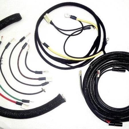 Massey Harris 101 Junior Wire Harness (Modified For A 1 Wire Alternator)