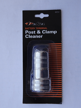 #B00254, Battery Post & Clamp Cleaner