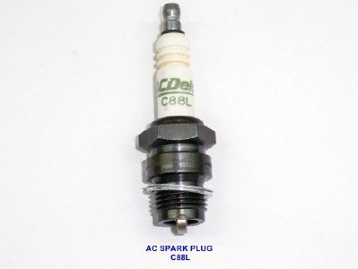 #C88L, AC Delco Spark Plug (Long Reach, 18mm)