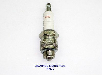 #RJ12C, Champion Spark Plug (14mm)