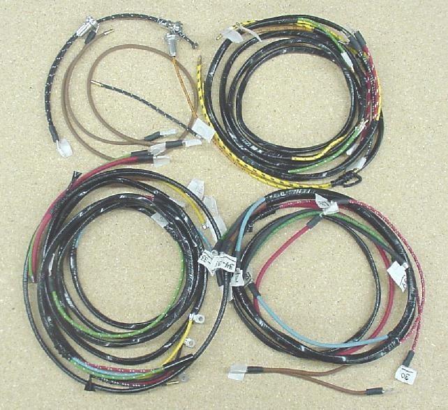 complete wire harness for 1953-1954 dodge truck coe model #b3hm, #b4hm -  the brillman company