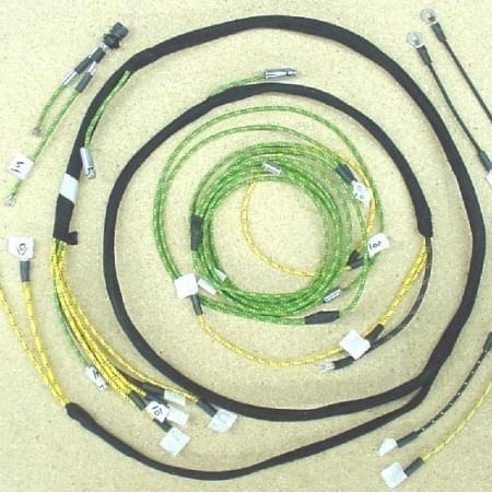 #3036-005 Minnaepolis Moline RT With Cutout Wire Harness