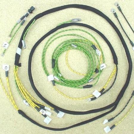 #3036-006 Minnaepolis Moline RTI With Cutout Wire Harness
