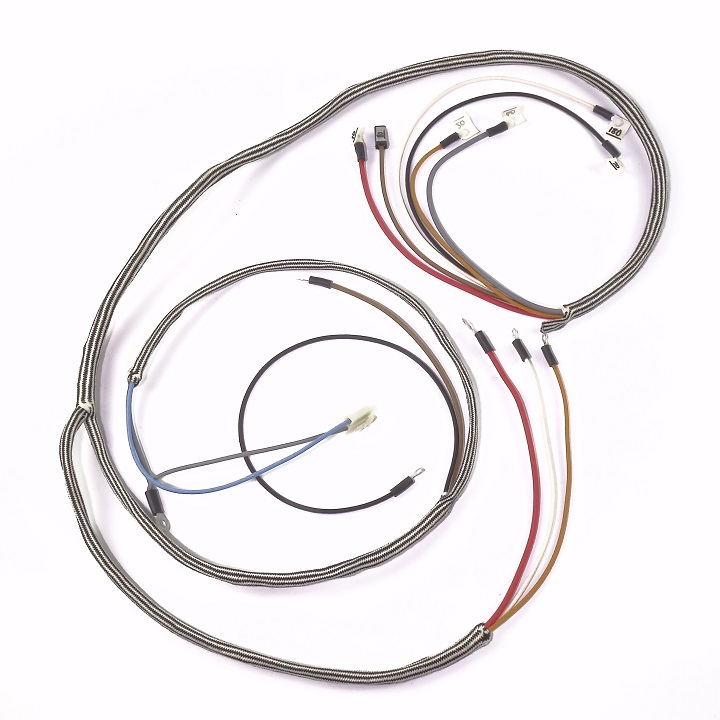 international 350 gas utility complete wire harness  delco