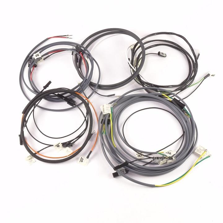 john deere 730 gas complete wire harness  10si alternator