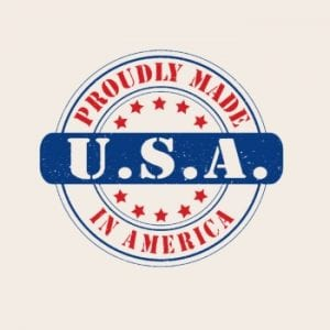 proudly made in USA logo