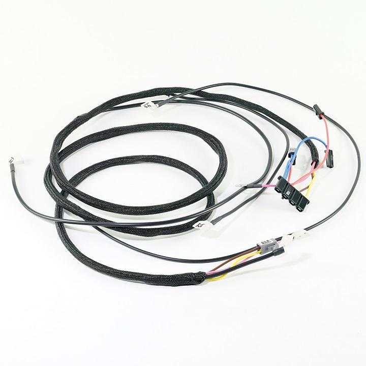 ihc  farmall 656 diesel  serial  23109  u0026 up  front main wire harness  10dn alternator