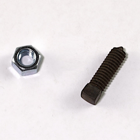 set screw and jam nut