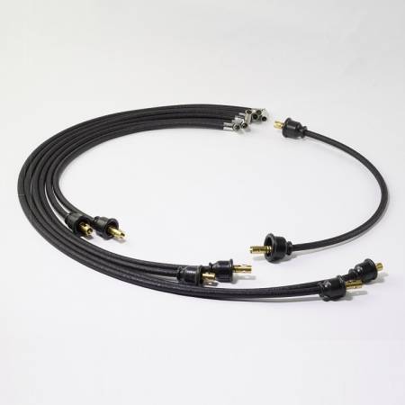 spark plug wire set with coil